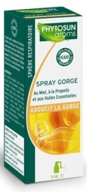 Illustration Respiration Spray Gorge 15 ml