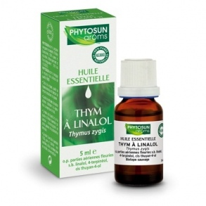 Illustration Huiles Essentielles Thym A Linalol 5 ml