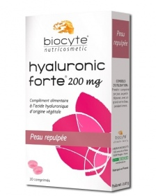 Illustration Hyaluronic Forte 200mg Peau repulpée - 30 comprimés