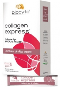 Illustration Collagen Express Peau lissée - boîte 10 sticks x 6 g