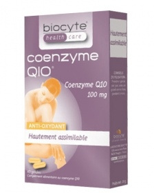 Biocyte - Coenzyme Q10 Hautement assimilable - 40 gélules