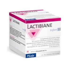 Illustration Lactibiane Enfant 10 sachets