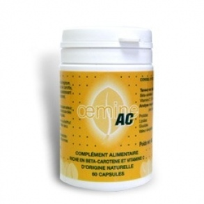 Illustration Vitamines Naturelles Oemine AC 60 Capsules