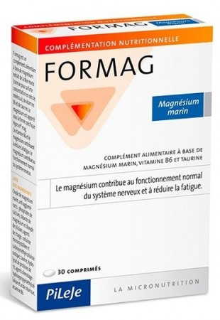 Illustration Formag 30 comprimés