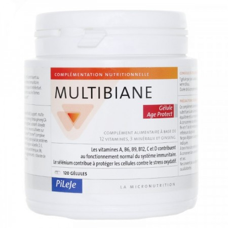 Illustration Multibiane Age Protect 120 gélules