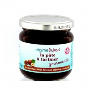 regime dukan pate a tartiner gourmande noisettes et cacao 220g. Black Bedroom Furniture Sets. Home Design Ideas