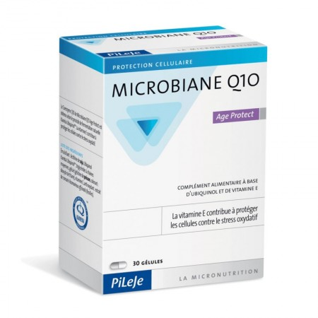 Illustration Microbiane Q10 Age Protect - 30 gélules