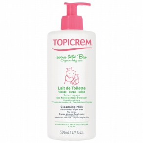 Topicrem - Lait de toilette bébé - 500ml