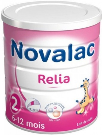 Illustration Lait  Relia 2e âge - 800g