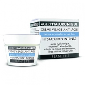 Illustration Acide hyaluronique Crème Visage Anti-âge Hydratation Intense - 50 ml