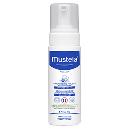 Mustela - Shampooing mousse nourrisson - 150 ml