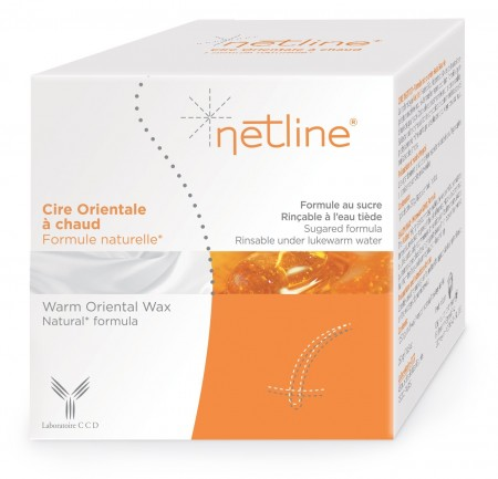 Illustration Netline Cire Orientale à  Chaud - 250 ml