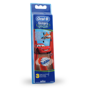 Oral-b - Brossettes de rechange Oral-B Stages Kids Cars Pack de 3