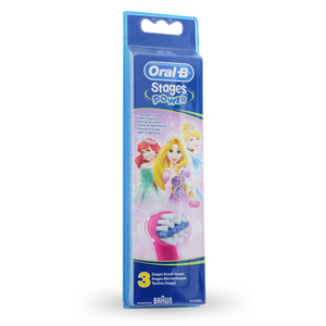 Oral-b - Brossettes de rechange Oral-B Stages Kids Princesse Pack de 3