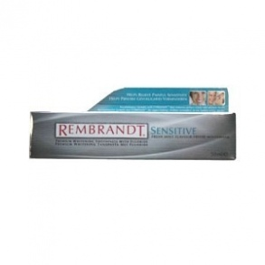 ORAL-B - Dentifrice Rembrandt Sensitive Blanchissant Premium au fluor - 50 ml