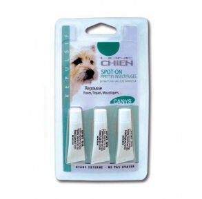 Illustration Canys Spot-on Pipettes insectifuges pour Chien - 3 X 2,8 ml