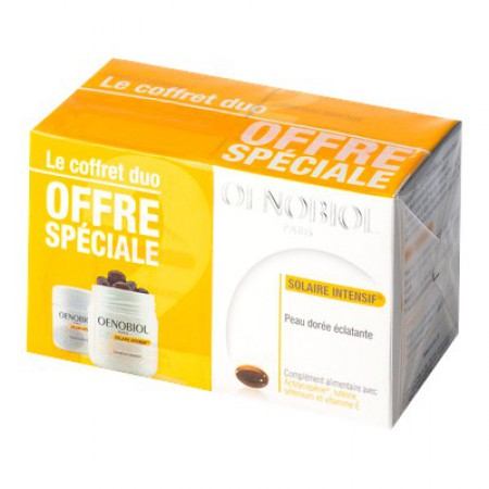 Illustration OENOBIOL SOLAIRE INTENSIF® - 2 x 30 Capsules