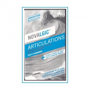 Illustration Novalgic Articulations Sensibles - 15 comprimés