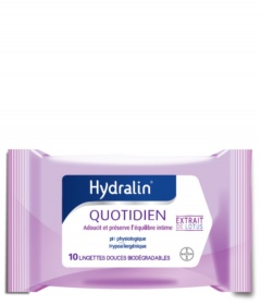 Hydralin - HYDRALIN QUOTIDIEN - Lingettes - Pack de 10