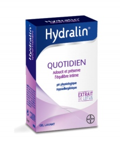 Hydralin - HYDRALIN QUOTIDIEN - Lingettes