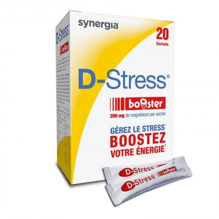 synergia d stress booster compl ment alimentaire 20 sachets de synergia sur 1001pharmacies. Black Bedroom Furniture Sets. Home Design Ideas