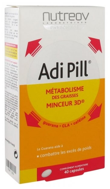 Nutreov Physcience - Adi Pill Complément alimentaire - 40 capsules