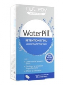 Nutreov - Physcience Water Pill Rétention d'Eau - 30 Comprimés