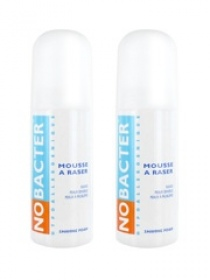 Illustration Nobacter Mousse à Raser 2x150 ml