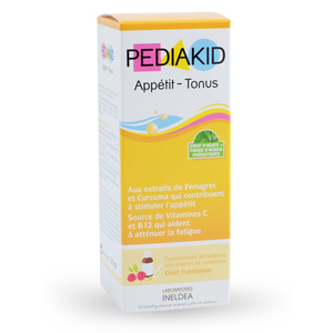 Illustration Pediakid Appétit - Tonus - 125 ml