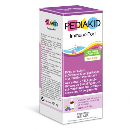 Illustration Pediakid Immuno-Fort -125 ml