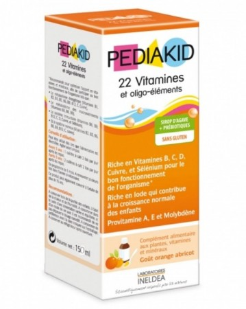 Ineldea - Pediakid 22 Vitamines & Oligo-Elements - 125 ml