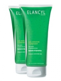 Elancyl -  Gel Douche Tonifiant - 2x200 ml