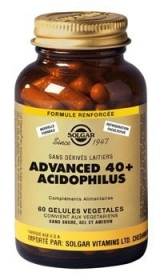 SOLGAR VITAMINS FRANCE - Advanced 40 plus Acidophilus - 60 gélules