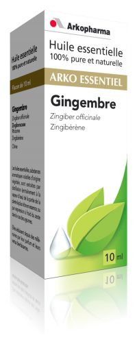 Illustration Huile essentielle de Gingembre (Zingiber officinale) - 10 ml