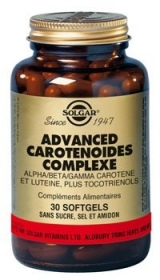 SOLGAR VITAMINS FRANCE - Advanced Caroténoïdes Complexe - 30 comprimés