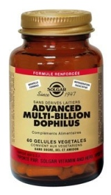 SOLGAR VITAMINS FRANCE - Advanced Multi-Billion Dophilus - 60 gélules