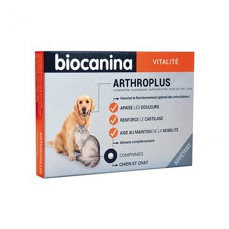 Biocanina - Biocatonic Arthroplus Bt 40 cp