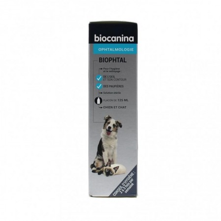 Biocanina - Biophtal Solution Fl 125 ml