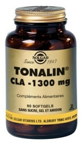 SOLGAR VITAMINS FRANCE - CLA Tonalin 1300 mg - 60 gélules