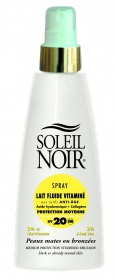 Illustration Spray Lait fluide protection moyenne SPF20 - 150 ml