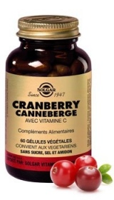 SOLGAR VITAMINS FRANCE - Cranberry Canneberge - 60 gelules