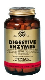 SOLGAR VITAMINS FRANCE - Digestives enzymes - 100 gélules