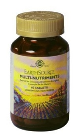 SOLGAR VITAMINS FRANCE - Earth Source Multi-nutriments - 60 gélules