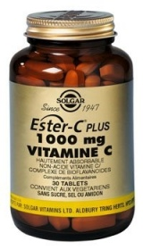 SOLGAR VITAMINS FRANCE - Ester-C(TM) plus 1000 - 30 gélules