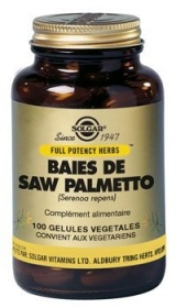 SOLGAR VITAMINS FRANCE - Baies de Saw Palmetto - 100 gelules