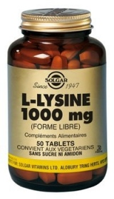 Illustration L-Lysine 1000 mg - 50 comprimés
