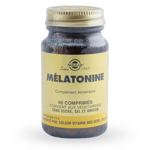 SOLGAR VITAMINS FRANCE - Mélatonine 1 mg - 60 comprimés