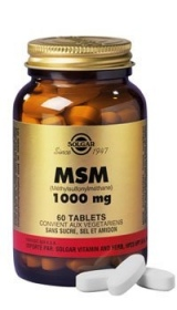 SOLGAR VITAMINS FRANCE - MSM 1000 mg - 60 comprimés