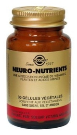 SOLGAR VITAMINS FRANCE - Neuro-nutrients - 30 gélules