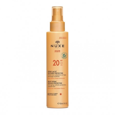 Nuxe - Spray lacté moyenne protection SPF20 - 150 ml